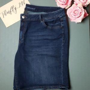 [Lane Bryant] Size 22 Bermuda Jean Shorts